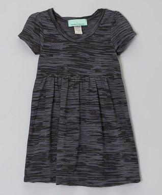 Black Burnout Dress- Infant, Toddler & Girls