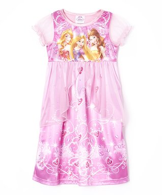 Pink Princesses Fantasy Nightgown - Toddler & Girls