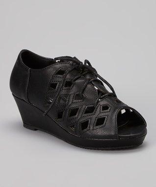 Black Low Loafer