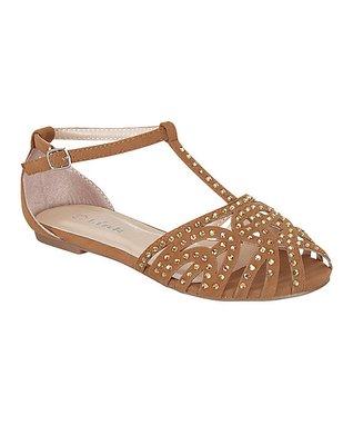 Fuchsia Bella T-Strap Sandal
