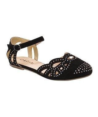 Fuchsia Embellished Bella Ankle Strap Sandal