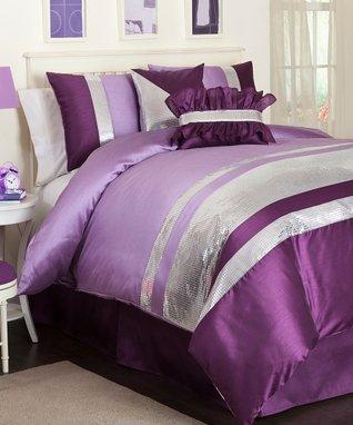 Purple Jewel Juvy Comforter Set