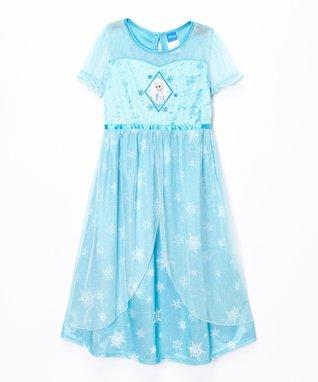 Frozen Elsa Dressy Gown - Girls