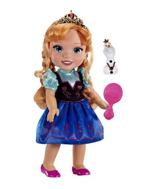 Frozen Anna Toddler Doll