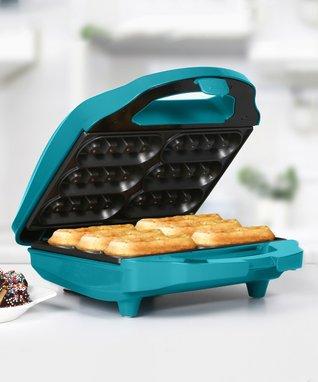 Teal Nonstick Waffle Stick Maker