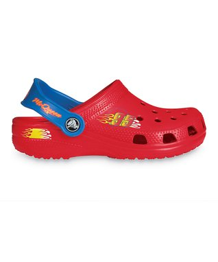 Red & Sea Blue McQueen Clog