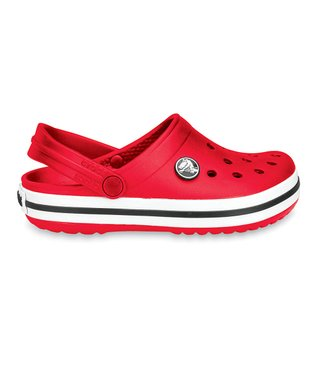 Red Crocband Clog