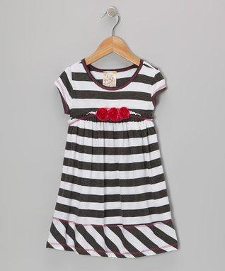 Royal Blue & Black Abstract Leggings - Toddler & Girls
