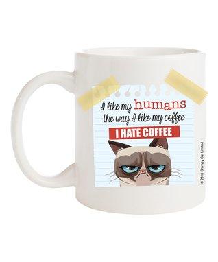 Grumpy Cat 'I Hate Coffee' Mug