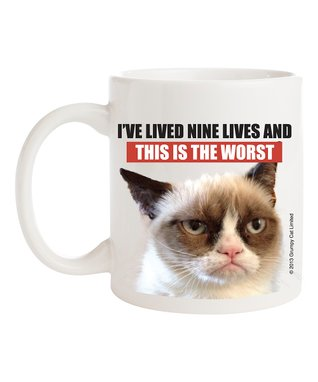 Grumpy Cat 'This Is the Worst' Mug