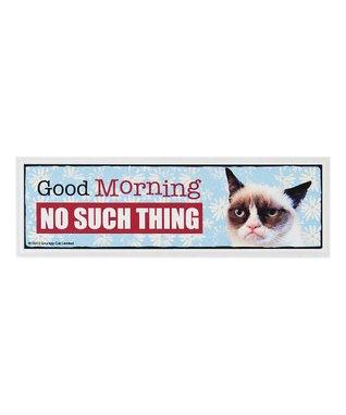 Grumpy Cat 'Good Morning' Sign