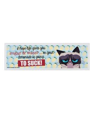 Grumpy Cat 'I Hope Life Gives You Sugar' Sign