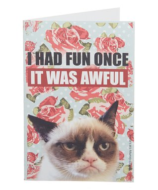 Grumpy Cat 'It Was Awful' Card - Set of Eight