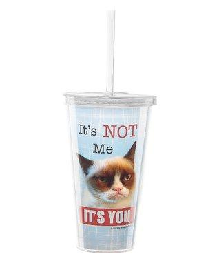 Grumpy Cat 'It's NOT Me' Insulated Tumbler