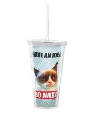 Grumpy Cat 'Go Away' Insulated Tumbler