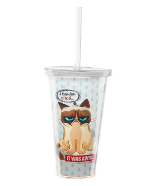 Grumpy Cat 'It Was Awful' Insulated Tumbler