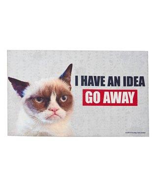 Grumpy Cat 'Go Away' Door Mat