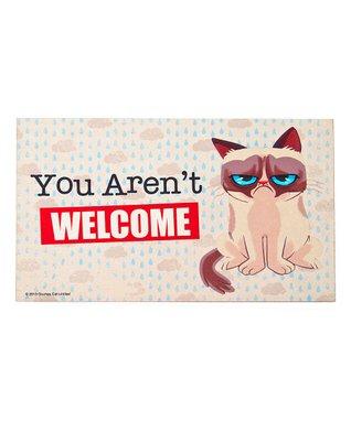 Grumpy Cat 'You Aren't Welcome' Door Mat