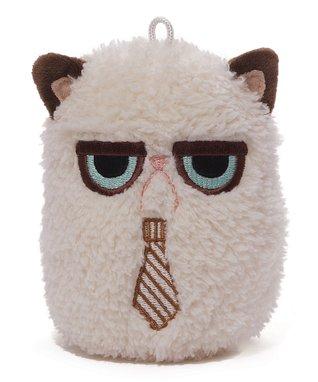 Grumpy Cat Tie Mini Plush