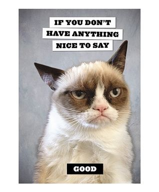 Grumpy Cat NO-tecard - Set of 20
