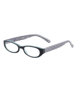 Black & White Houndstooth Emerson Eye Candy Readers