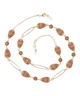 Leopard Geometric Eye Catchers Eyeglass Necklace