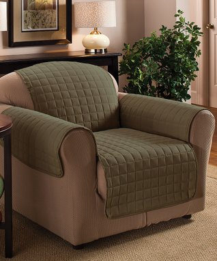 Sage Microfiber Chair Protector