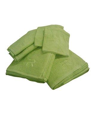 Hot Pink Rampage Six-Piece Towel Set
