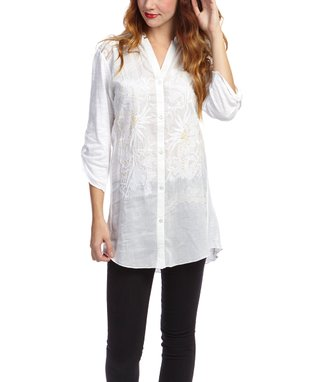 Montanaco White Ivy Top - Women
