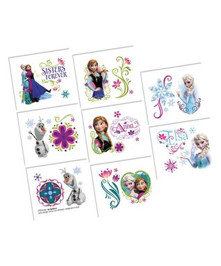 Frozen Tattoo Favor - Set of 48