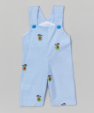 Blue Golf Shortalls - Infant & Toddler