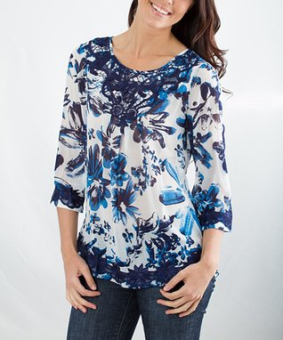 Montanaco Blue Oceana Top - Women