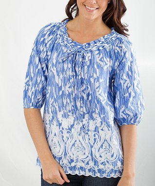 Montanaco Blue Beth Top - Women