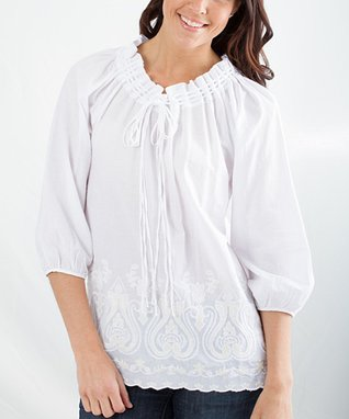 Montanaco Ivory Beth Top - Women