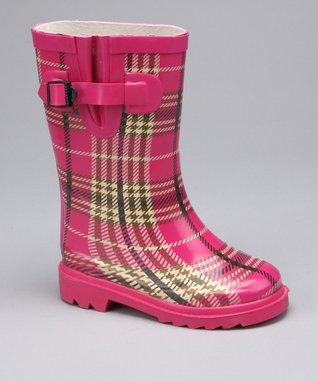 Joseph Allen Black & Yellow Fireman Rain Boot