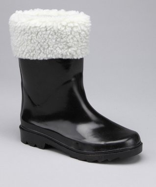 Easy Shoes Gray Rain Boot