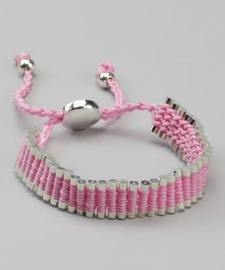White Runway Link Bracelet
