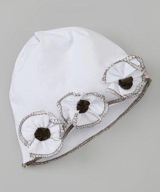 White Sunshine Hat