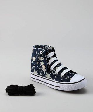 Collection'O Navy Star Hi-Top Sneaker