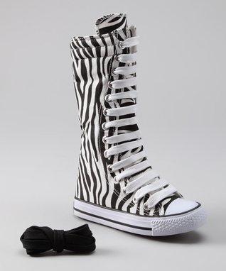 Collection'O Zebra Knee-High Sneaker