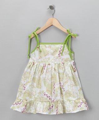 Blue & Pink Stripe Heart Dress - Toddler & Girls