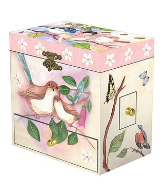 Enchantmints Enchantmints Sweet Fairy Wrens Musical Jewelry Box
