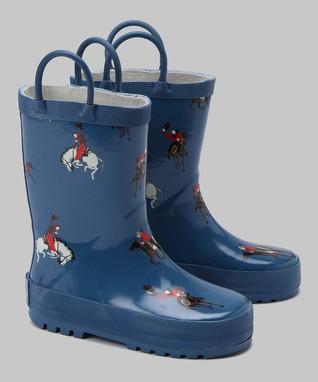 Jelly Beans Green & Brown Camo Rain Boot