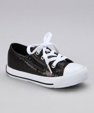 Gotta Flurt Black Slider Sneaker