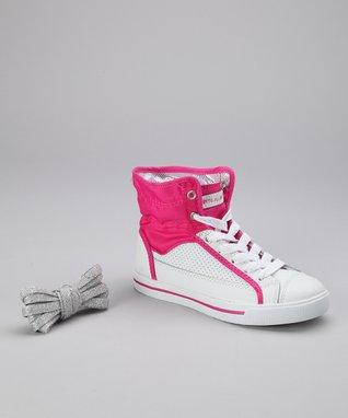 Gotta Flurt Hot Pink Valley Hi-Top Sneaker
