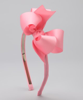 Pink & Black Bow Glam Baby Leg Warmers