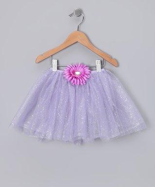 Purple Cupcake Leg Warmers & Flower Headband