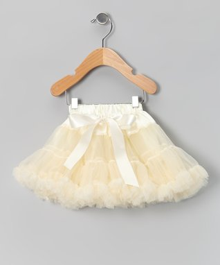 Ivory Bow Pettiskirt - Infant, Toddler & Girls