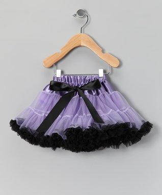 Black & Hot Pink Zebra Bow Pettiskirt - Infant, Toddler & Girls