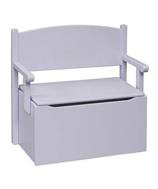 Lavender Toy Box Bench